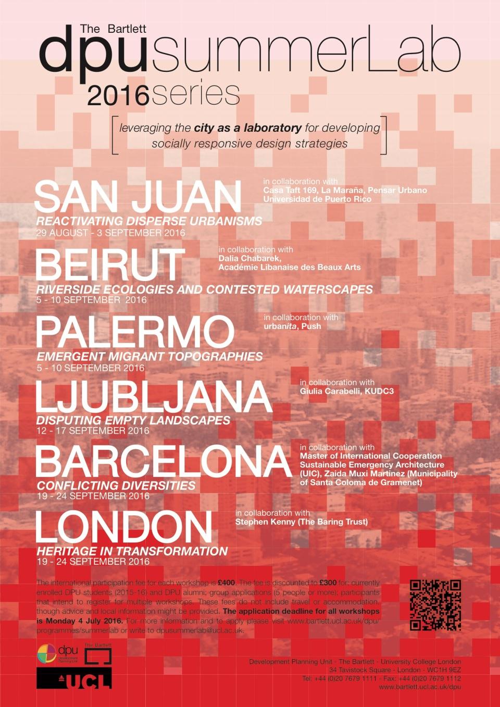summerLab 2016 poster
